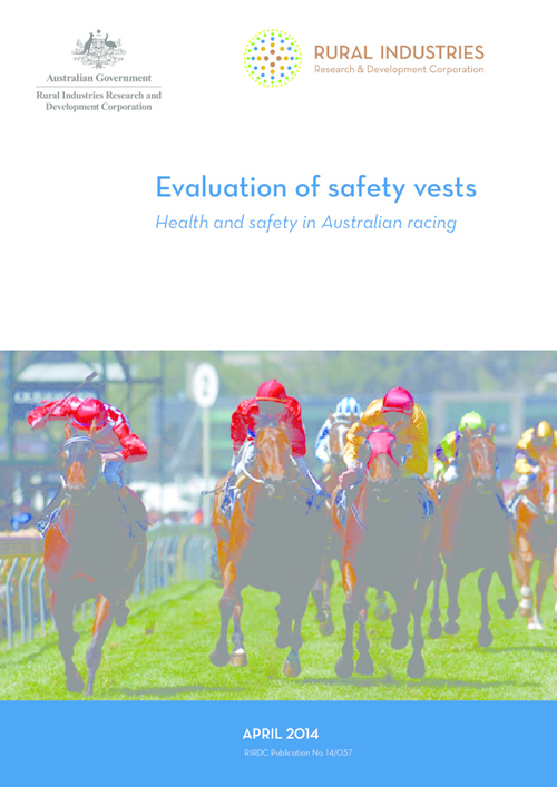 Evaluation of safety vests - Health and safety in Australian racing - image