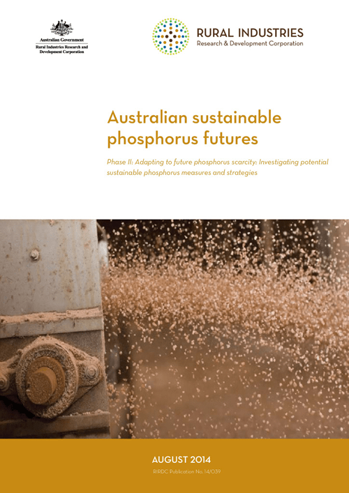 Australian sustainable phosphorus futures – Phase II: Adapting to future phosphorus scarcity - image
