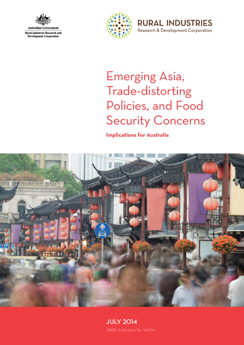 Emerging Asia, Trade-distorting Policies, and Food Security Concerns: Implications for Australia - image