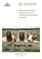 Optimising genetics, reproduction and nutrition of dairy sheep and goats - image