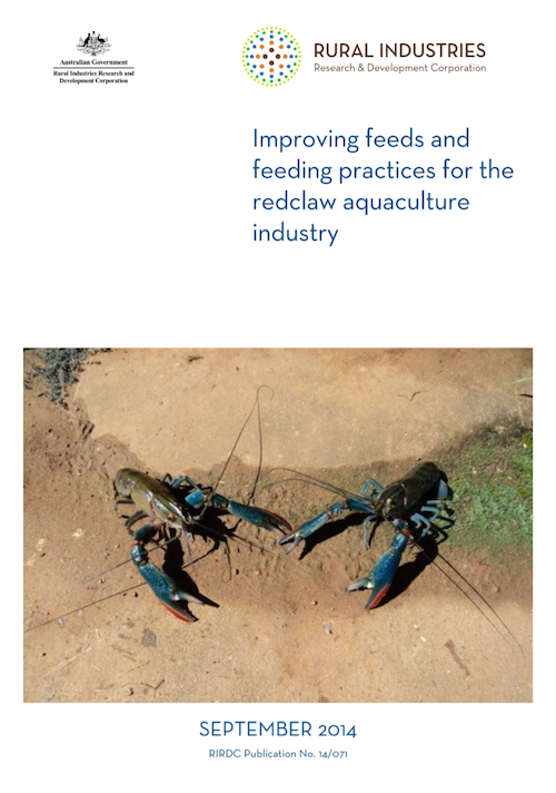 Improving feeds and feeding practices for the redclaw aquaculture industry - image
