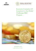 Economic Evaluation of Investment in the Global Challenges R&D Program - image