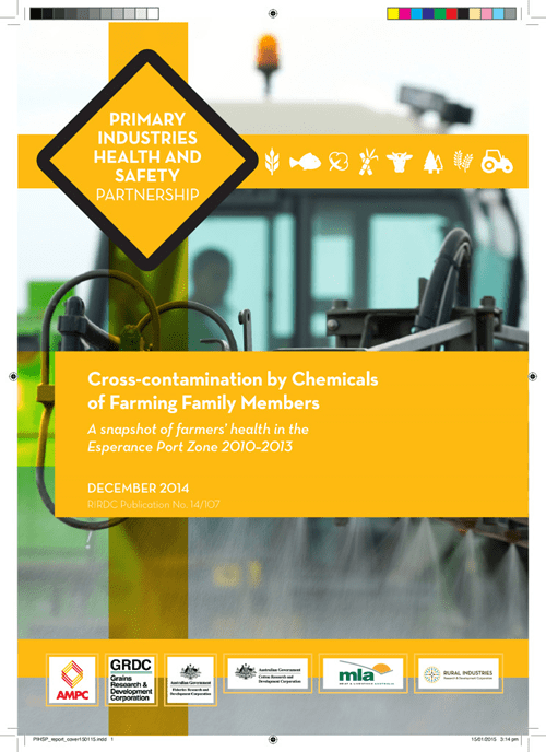 Cross-contamination by Chemicals of Farming Family Members - image