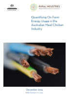 Quantifying On-Farm Energy Usage in the Australian Meat Chicken Industry - image
