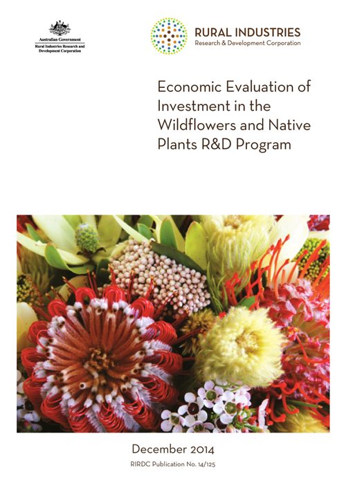 Economic Evaluation of Investment in the Wildflowers and Native Plants R&D Program - image