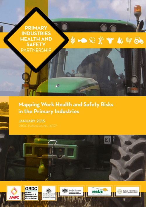 Mapping work health and safety risks in the primary industries - image