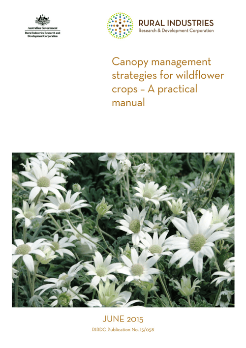 Canopy management strategies for wildflower crops – A practical manual - image