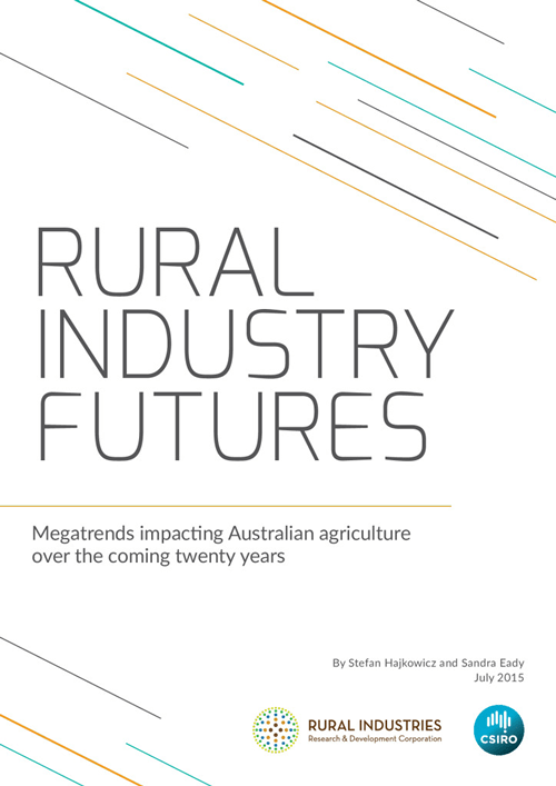 Rural Industry Futures: megatrends impacting Australian agriculture over the coming twenty years - image
