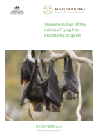 Implementation of the national Flying-Fox monitoring program - image