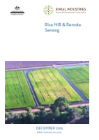 Rice NIR and Remote Sensing - image