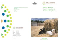 Scoping Study for Genetic Evaluation of Australian Dairy Goats - image