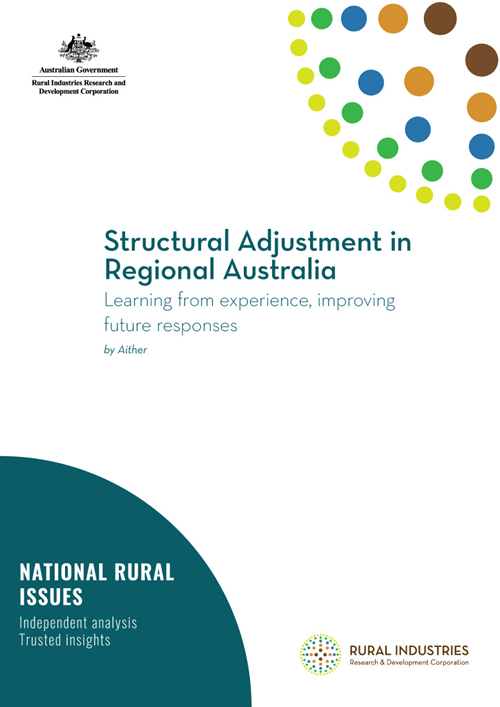 Structural Adjustment in Regional Australia - Learning from experience, improving future responses - image