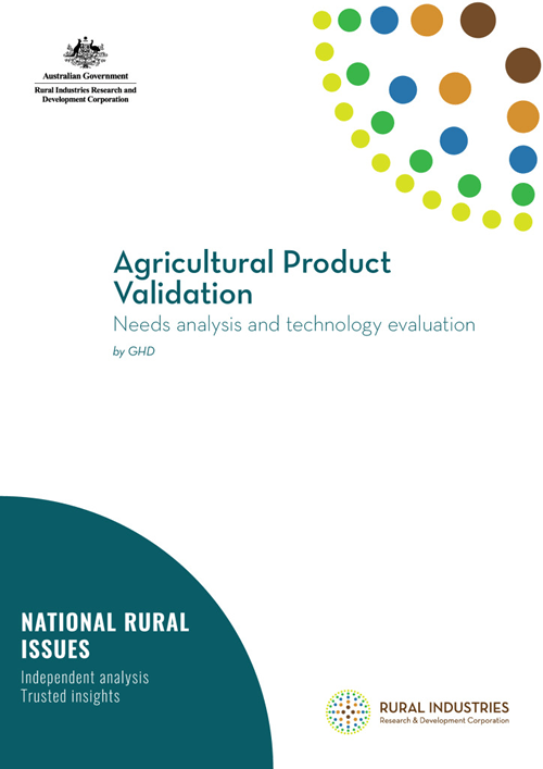 Agricultural Product Validation Report - image