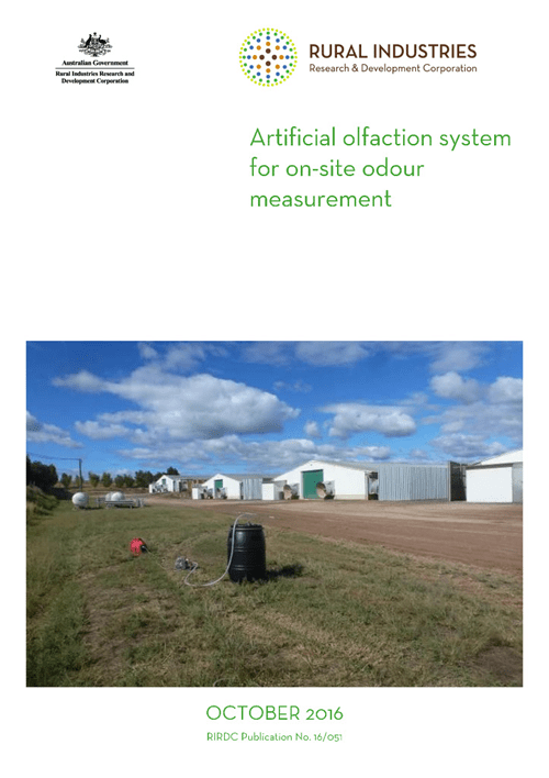 Artificial olfaction system for on-site odour measurement - image