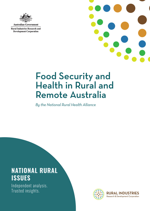 Food security and health in rural and remote Australia - image