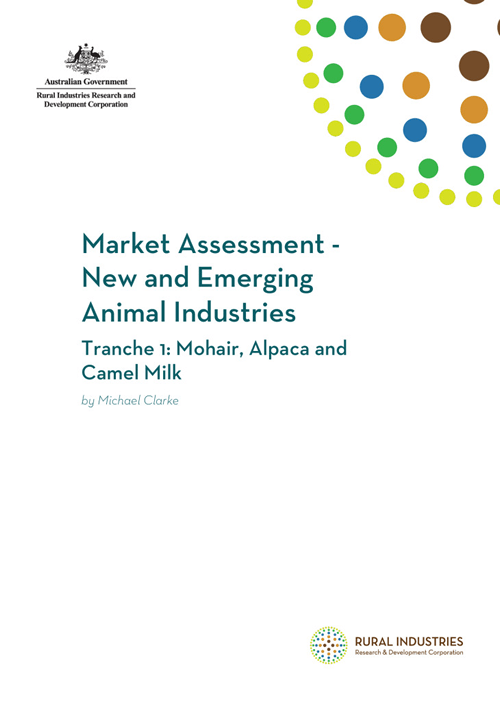 Market Assessment – New and Emerging Animal Industries. Tranche 1: Mohair, Alpaca and Camel Milk - image