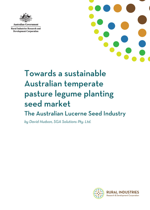 Towards a sustainable Australian temperate pasture legume planting seed market - image