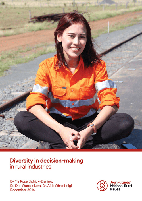 Diversity in decision-making in rural industries - image