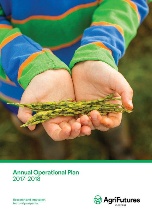 AgriFutures Australia Annual Operational Plan 2017-2018 - image