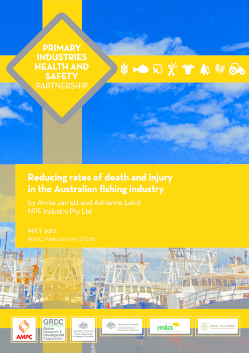 Reducing rates of death and injury in the Australian fishing industry - image
