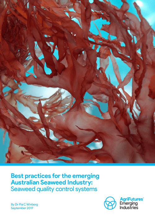 Best practices for the emerging Australian Seaweed Industry - image