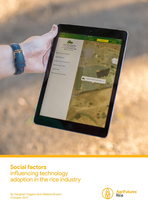 Social Factors Influencing Technology Adoption in the Rice Industry - image