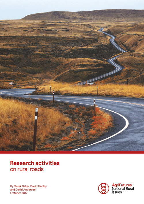 Research activities on rural roads - image
