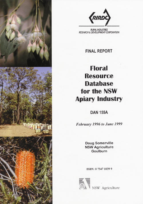 Floral Resource Database for the NSW Apiary Industry - image